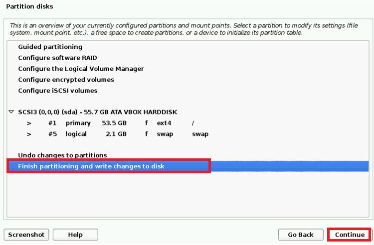 21 install kali linux