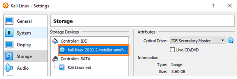 10 install kali linux